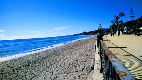 Marbella: Strandpromenade