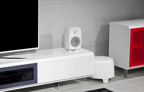 Active speakers Genelec Home Audio G Three, Subwoofer F Two -  Rhaposdy Hifi