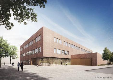 Architekturentwurf Neubau Tiermedizinisches Zentrum
