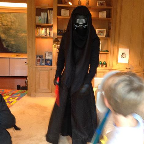 Anniversaire Star Wars à domicile