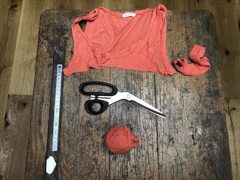 Tutoriel pour créer du fil avec un T. Shirt - Anne-Claire Perruchon - Une idée derrière la tête -