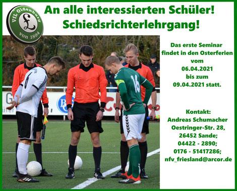 VfL Oldenburg, Schiedsrichter