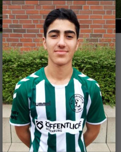 Torschütze zum 1:0 Zaradascht Abd Alkarim