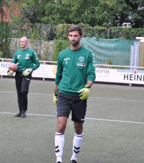 Intensives Torwarttraining mit unserem Regionalligatorwart!