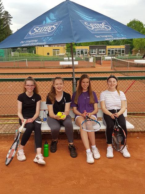 (v.l.): Anna Elisabeth Schmidt, Julie Ritter, Paula Kaplan, Scarlett Sonnenbrodt