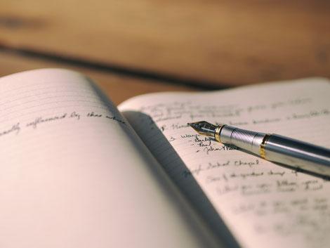Führe ein Erfolgs- und Dankebarkeitsjournal.