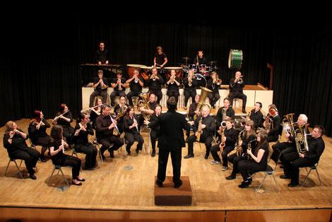 Der erste Auftritt des Modernen Blasorchesters Oppau (Bildrechte: MBO)