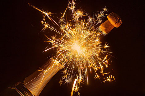 Bottle of sparkling wine (Quelle: Pixabay)