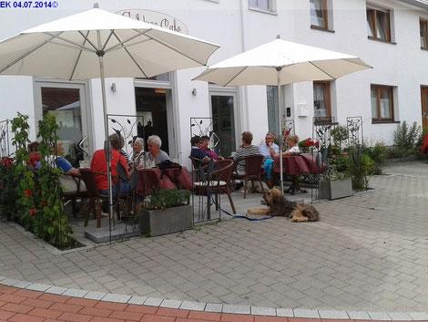 04.07.2014 Im GeNuss Cafe :-)
