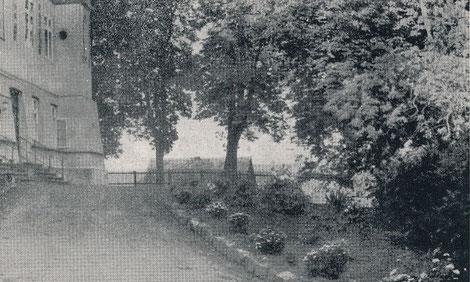 Aufgang zum Internat / Schloss, Foto: O. Hauck