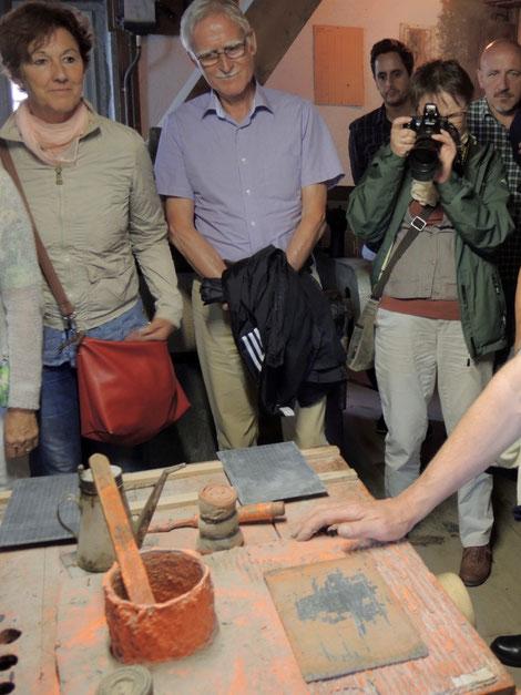 Spannende Reise in die Vergangenheit – mit Jürg Schuler, Enkel des Betreibers der Schiefertafelfabrik