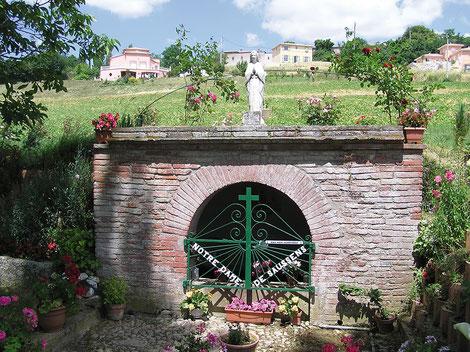 Fontaine à Saussens. Crédit photo : Couleur Lauragais