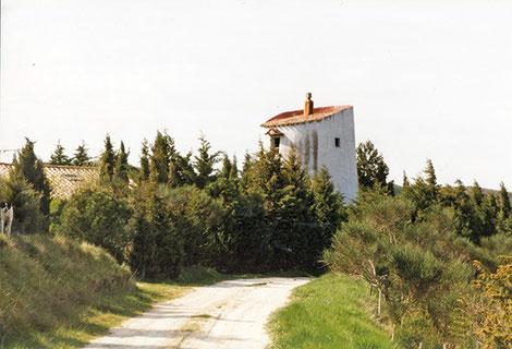 Le moulin de la Mailhole à La Cassaigne