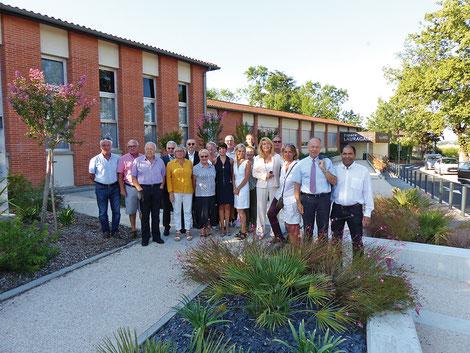 Toute l'équipe municipale de la mairie de Saint-Orens de Gameville