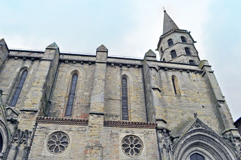 Saint Michel de Castelnaudary érigée en collégiale en 1318
