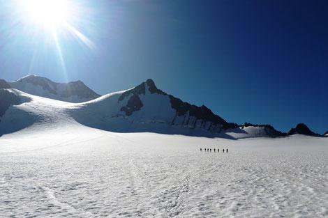 individuelle Hochtour mit Bergführer, geführte Hochtour auf deinen Traumberg in den Alpen