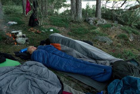 Pfadfinder Schlafplatz Sommerfahrt