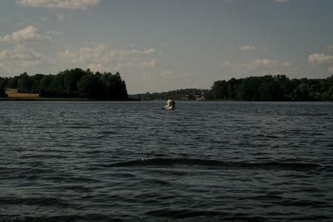 Kanuhaijk Sommerfahrt, Baven See Schweden