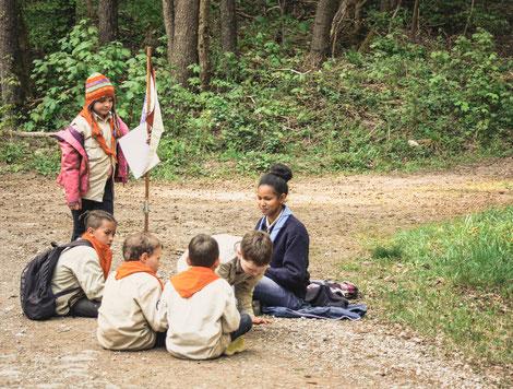 Pfadfinder Aachen Kinder Gruppenleiter
