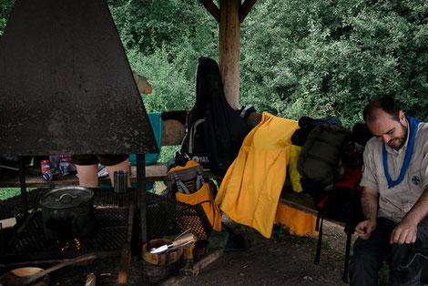 Aachener Pfadfinder, Sommerfahrt Schweden, Roverrunde Atlas