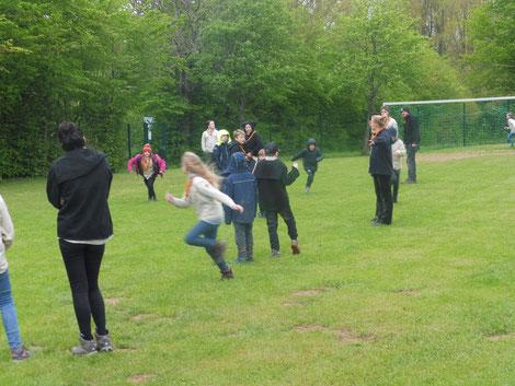 Pfadfinder Aachen Fußballspiel, Lagerspiel
