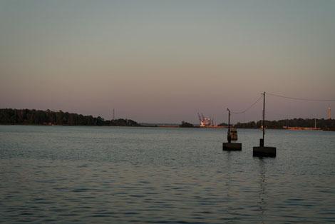 Hafen Norrköping Schweden