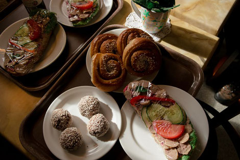 Schwedisches Frühstück in Aby