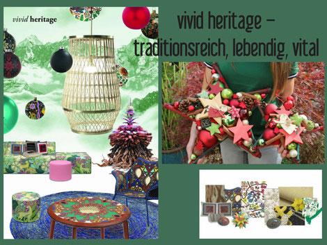 dekotrend, weihnachtsdeko, grün, rot, natur, Blogbeitrag über Einrichtungstrends