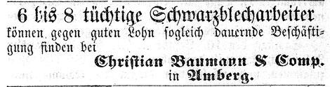 Amberger Tagblatt 11.12.1865