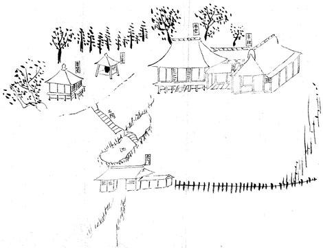 上石川山内図