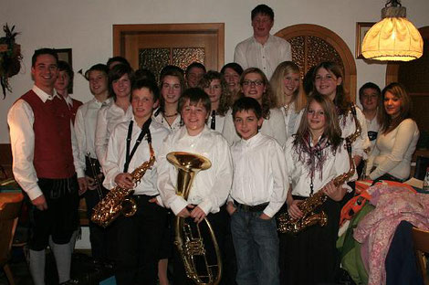 Jugendkapelle Aitrang Leitung Martin Weber