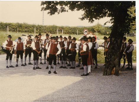 Musikkapelle Aitrang 1986