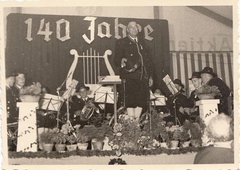 Musikkapelle Aitrang 140 Jahre
