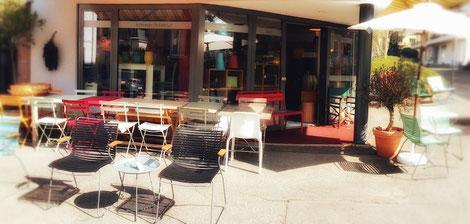 Ladengeschäft für Mobiliar und fugenlose Wandbeläge - Innenarchitekt Mark Simon Wildner #lebewunderbar