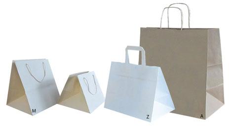 Besondere Papiertasche: Konditorentasche
