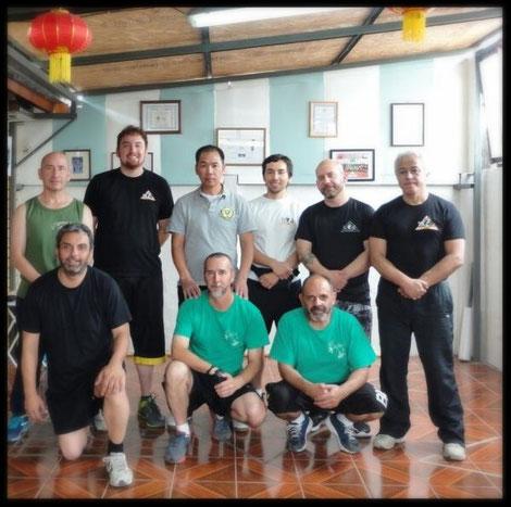 Shifus Asociación Wing Chun Chile