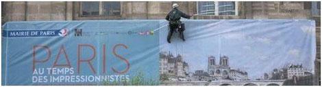 Exposition Paris au temps des Impressionnistes