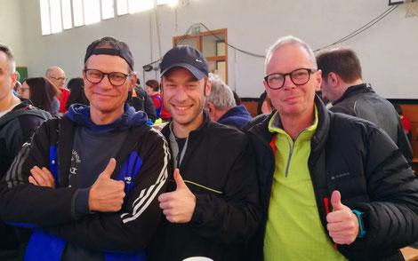 v.L. Ron Franke, Dennis Fest und Helge Rademacher