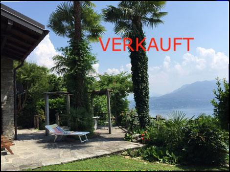 Ferienhaus Lago Maggiore Terrasse