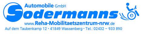 Reha Mobilitätszentrum NRW - F. Sodermanns Automobile GmbH
