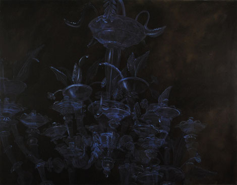 Mazeppa / 2012 / oil on canvas / 97 x 126 cm