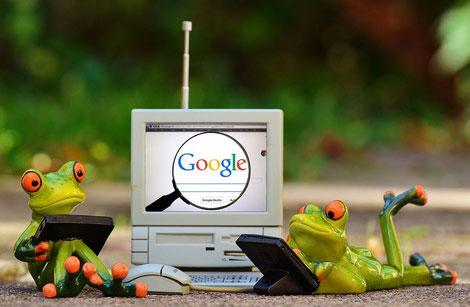 Websuche Responsive Design Google