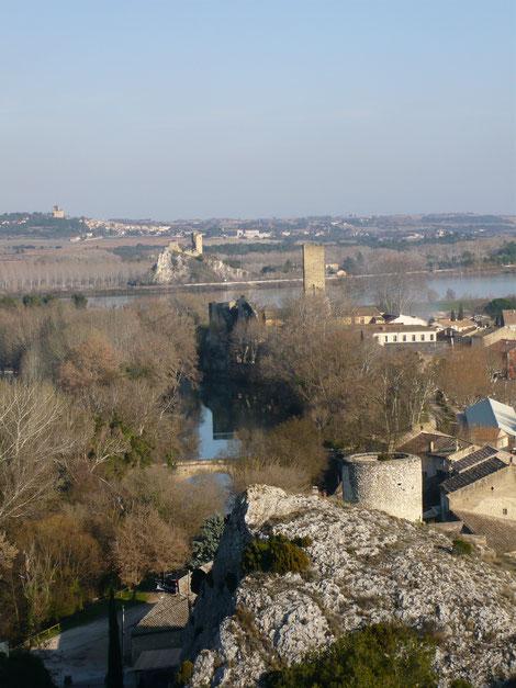 Photo de Roquemaure dans le Gard