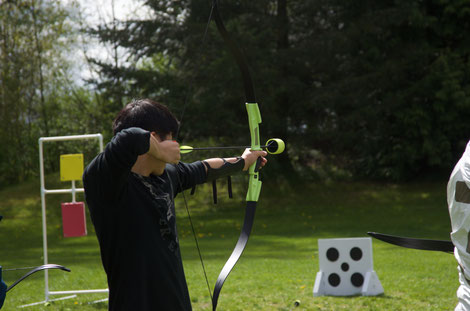 Archery Lessons for High School in Burnaby