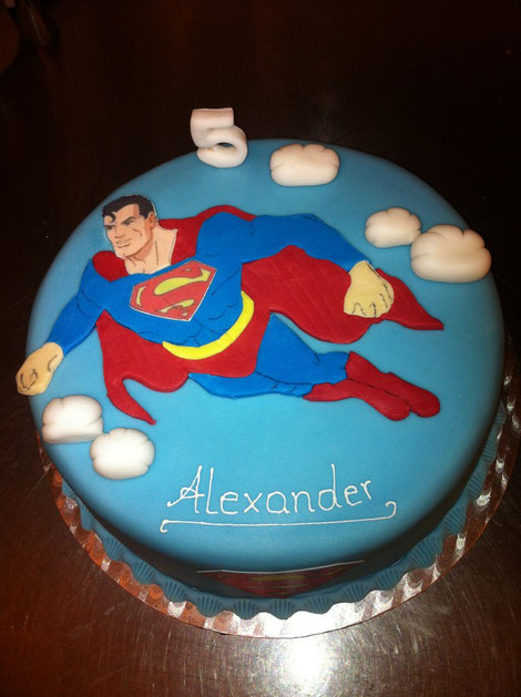 Superhelden - Tanja´s Backkreationen