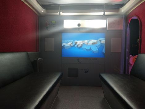 Touchscreen und Spiegelreflex Kamera Fotobox