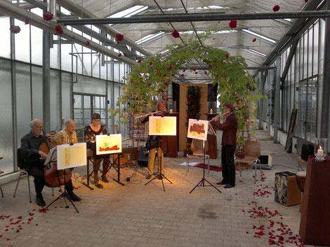 Konzert im Rosengarten, Foto : B. Bausch