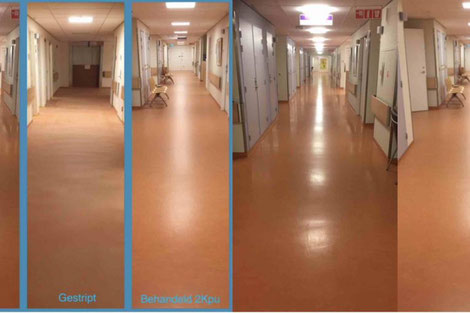 Primeur uv careshield bescherming marmoleum projectstoffering