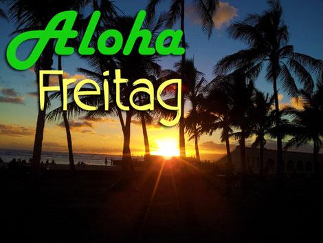 Sonnenuntergang auf Hawaii