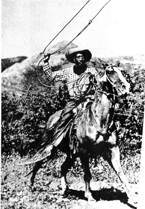 Cowboy im Hawaiihemd